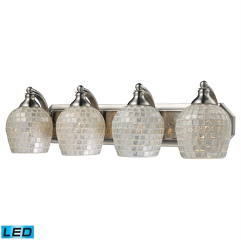 Picture of Elk 570-4N-SLV-LED Vanity Vanity Lighting