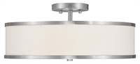Picture for category Livex Lighting 6352-91 Flush Mounts Park ridge