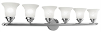 Picture for category Livex Lighting 1066-05 Bath Lighting 48in Chrome Steel 6-light