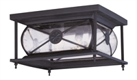 Picture for category Livex Lighting 2090-07 Outdoor Flush Mount Providence