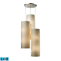 Picture for category Elk 20160/12R-LED Fabric cylinders Pendants 28in
