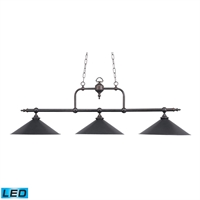 Picture for category Elk 191-TB-LED Designer classics billiard island Island Lighting 63in