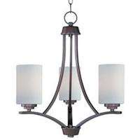 Picture for category Maxim 20033SWOI Deven Mini Chandeliers 18in