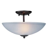 Picture for category Maxim 10042FTOI Logan Semi Flush 13in