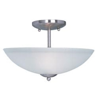 Picture for category Maxim 10042FTSN Logan Semi Flush 13in