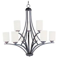 Picture for category Maxim 20036SWOI Deven Chandeliers 32in