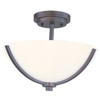 Picture for category Maxim 20031SWOI Deven Semi Flush 14in