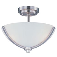 Picture for category Maxim 20031SWSN Deven Semi Flush 14in
