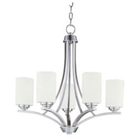 Picture for category Maxim 20035SWSN Deven Chandeliers 24in