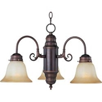 Picture of Maxim Lighting 91196MRMW Chandelier  from the builder basics collection