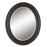 Picture for category Uttermost 14610 Ovesca oval Mirrors 28in MDF