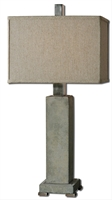 Picture for category Uttermost 26543-1 Risto Table Lamps 10in Metal Concrete 1-light