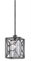 Picture for category Uttermost 21978 Arbela Mini Pendants 9in METAL GLASS 1-light