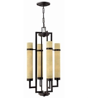 Picture for category Hinkley 4094RI Cordillera Chandeliers 19in Rustic Iron Metal 8-light