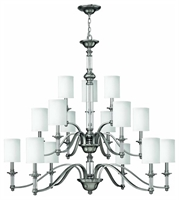 Picture for category Hinkley 4799BN Sussex Chandeliers 47in Brushed Nickel Metal 15-light