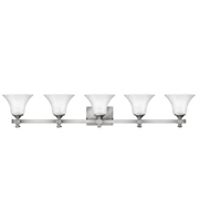 Picture for category Hinkley 5855BN Abbie Bath Lighting 44in Brushed Nickel Metal 5-light
