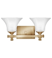 Picture for category Hinkley 5852BC Abbie Bath Lighting 16in Brushed Caramel Metal 2-light