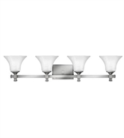 Picture for category Hinkley 5854BN Abbie Bath Lighting 35in Brushed Nickel Metal 4-light