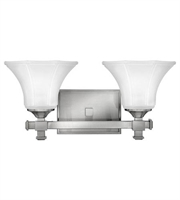 Picture for category Hinkley 5852BN Abbie Bath Lighting 16in Brushed Nickel Metal 2-light