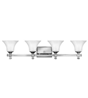 Picture for category Hinkley 5854CM Abbie Bath Lighting 35in Chrome Metal 4-light