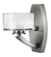 Picture for category Hinkley 5590BN Meridian Bath Lighting 5in Brushed Nickel Metal 1-light