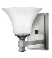 Picture for category Hinkley 5850BN Abbie Bath Lighting 7in Brushed Nickel Metal 1-light
