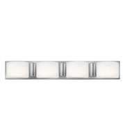 Picture for category Hinkley 55484CM Daria Bath Lighting 33in Chrome Steel 4-light