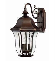 Picture for category Hinkley 2334CB Monticello Outdoor Lighting Lamps 11in Copper Bronze Solid Brass