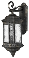 Picture for category Hinkley 1725BG Regal Outdoor Lighting Lamps 9in Black Granite Cast Aluminum