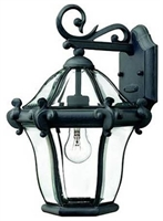 Picture for category Hinkley 2440MB San Clemente Outdoor Lighting Lamps 10in Museum Black 1-light