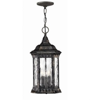 Picture for category Hinkley 1722BG Regal Outdoor Lighting Lamps 8in Black Granite Cast Aluminum