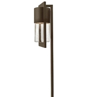 Picture for category Hinkley 1547KZ Dwell Landscape 5in Buckeye Bronze Solid Aluminum 1-light