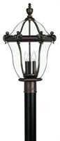 Picture for category Hinkley 2441CB San Clemente Outdoor Lighting Lamps 14in Copper Bronze 3-light