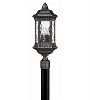 Picture for category Hinkley 1721BG Regal Outdoor Lighting Lamps 9in Black Granite Cast Aluminum