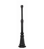 Picture for category Hinkley 6638BK Post Accessory Outdoor Accessory 3in Black Cast Aluminum