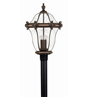 Picture for category Hinkley 2447CB San Clemente Outdoor Lighting Lamps 16in Copper Bronze 3-light