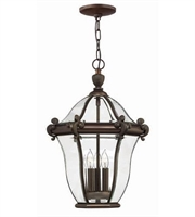 Picture for category Hinkley 2442CB San Clemente Outdoor Lighting Lamps 14in Copper Bronze 3-light