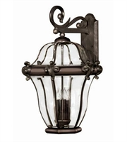 Picture for category Hinkley 2446CB San Clemente Outdoor Lighting Lamps 18in Copper Bronze 4-light