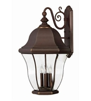 Picture for category Hinkley 2336CB Monticello Outdoor Lighting Lamps 17in Copper Bronze Solid Brass
