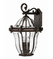 Picture for category Hinkley 2445CB San Clemente Outdoor Lighting Lamps 14in Copper Bronze 3-light