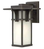 Picture for category Hinkley 2230OZ Manhattan Outdoor Lighting Lamps 7in Oil Rubbed Bronze Aluminum
