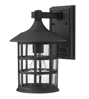 Picture for category Hinkley 1804BK Freeport Outdoor Lighting Lamps 8in Black Cast Aluminum 1-light
