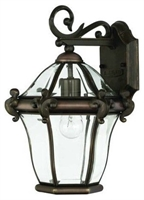 Picture for category Hinkley 2440CB San Clemente Outdoor Lighting Lamps 10in Copper Bronze 1-light