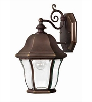 Picture for category Hinkley 2330CB Monticello Outdoor Lighting Lamps 9in Copper Bronze Solid Brass