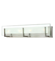 Picture for category Hinkley 5654BN Latitude Bath Lighting 26in Brushed Nickel Steel 4-light