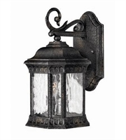 Picture for category Hinkley 1720BG Regal Outdoor Lighting Lamps 7in Black Granite Cast Aluminum