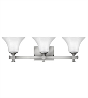 Picture for category Hinkley 5853BN Abbie Bath Lighting 25in Brushed Nickel Metal 3-light