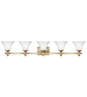 Picture for category Hinkley 5855BC Abbie Bath Lighting 44in Brushed Caramel Metal 5-light