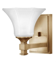 Picture for category Hinkley 5850BC Abbie Bath Lighting 6in Brushed Caramel Metal 1-light