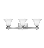 Picture for category Hinkley 5853CM Abbie Bath Lighting 25in Chrome Metal 3-light
